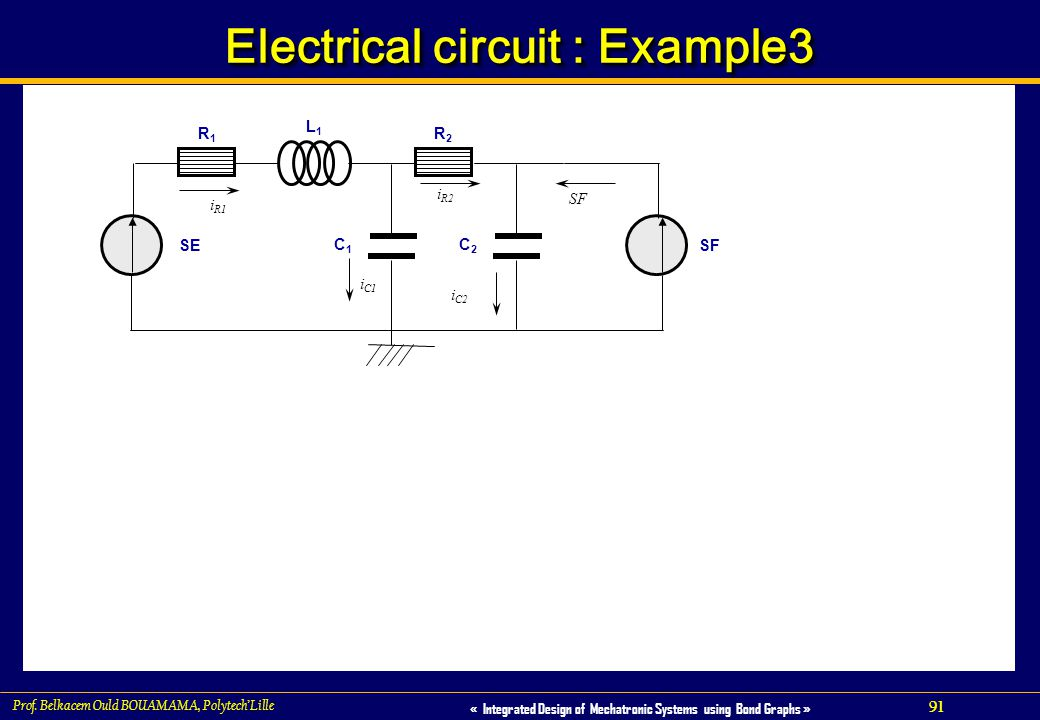 Electrical circuit : Example3