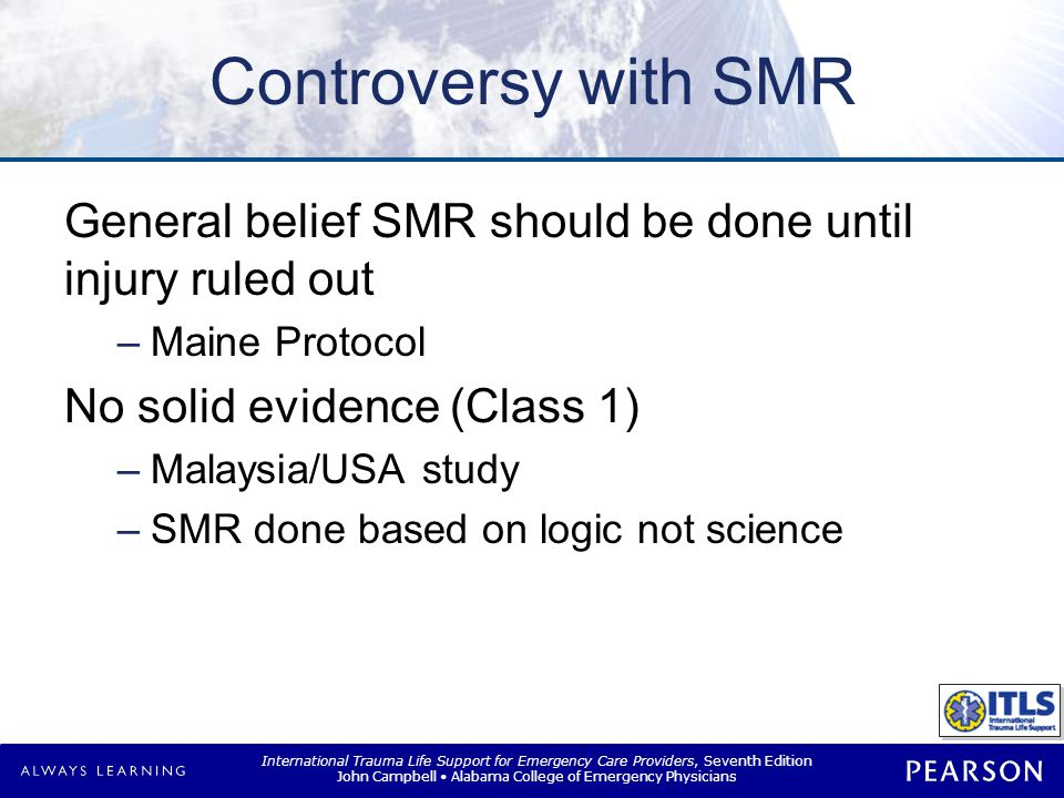 SMR Situations Low-risk situation High-risk situation