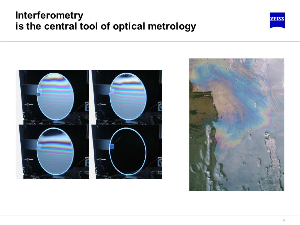 Interferometry is the central tool of optical metrology