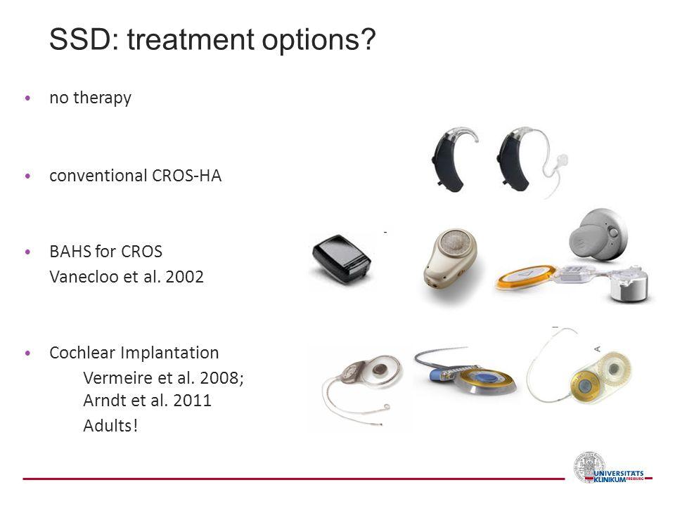 SSD: treatment options