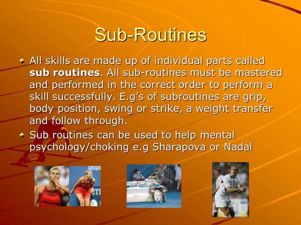 Sub-Routines