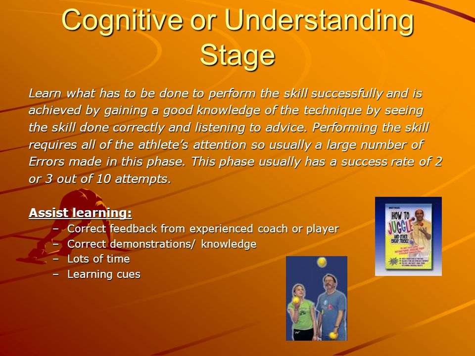 Cognitive or Understanding Stage