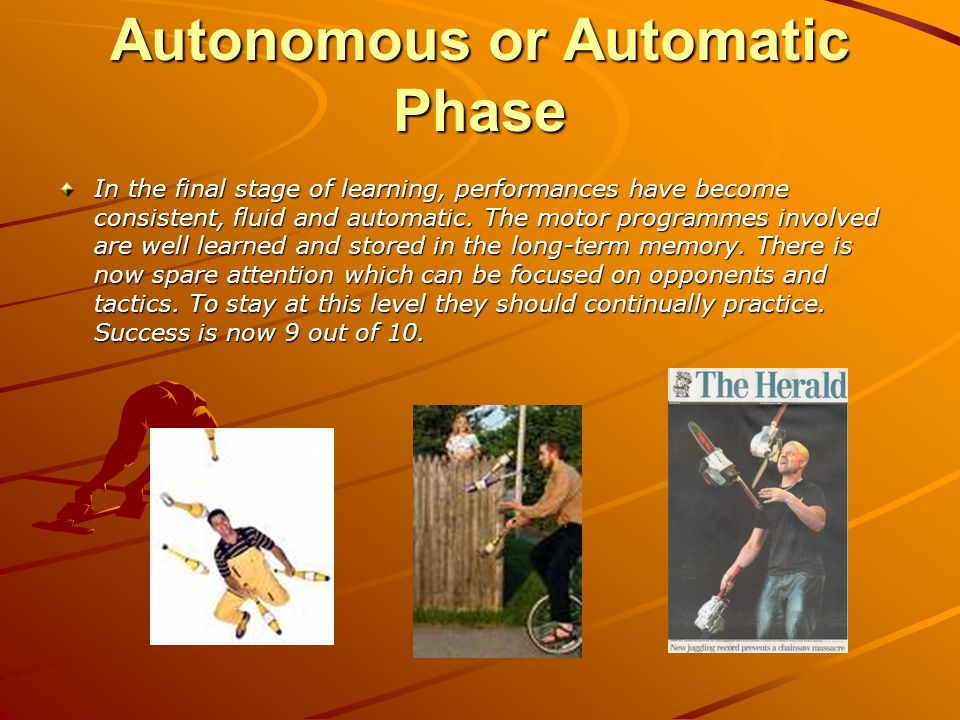 Autonomous or Automatic Phase