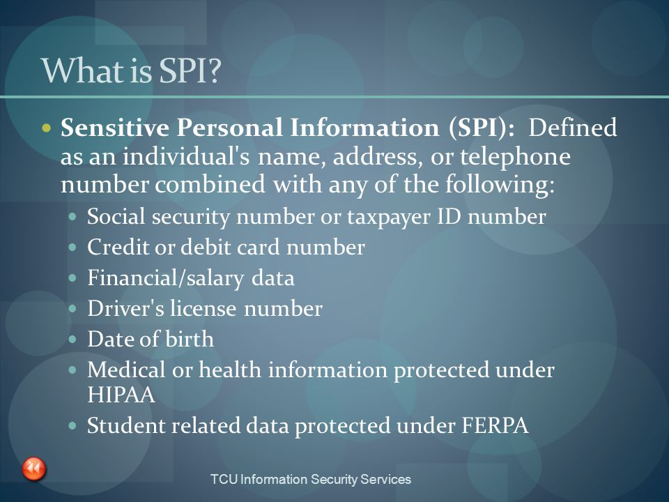 What is SPI