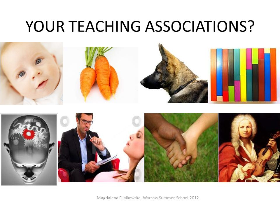 YOUR TEACHING ASSOCIATIONS