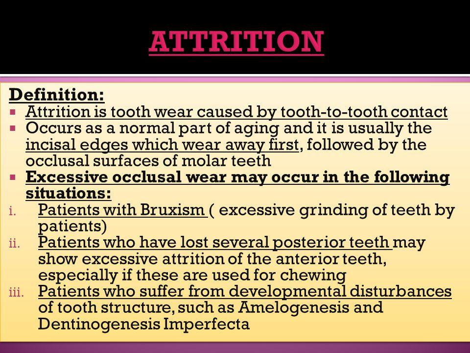 ATTRITION Definition: