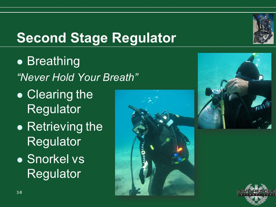 Second Stage Regulator