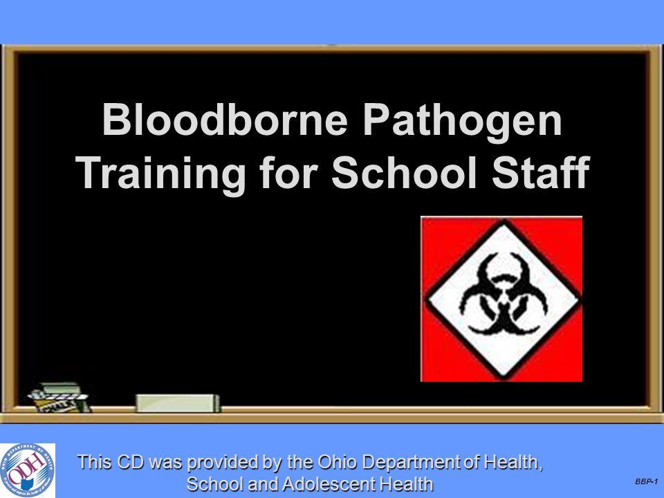 Bloodborne Pathogen Training for School Staff