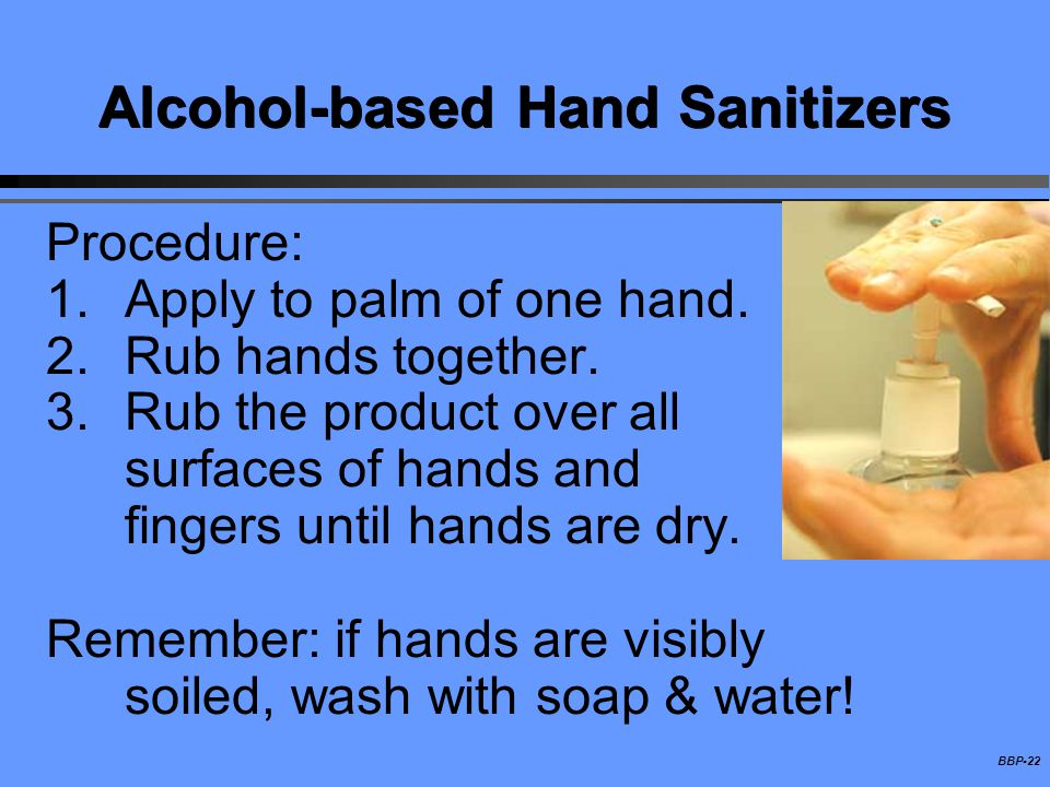 Alcohol-based Hand Sanitizers