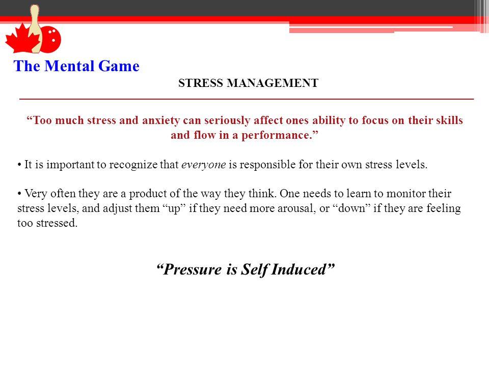 Pressure is Self Induced