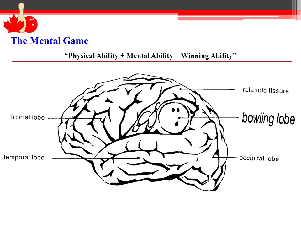 Physical Ability + Mental Ability = Winning Ability