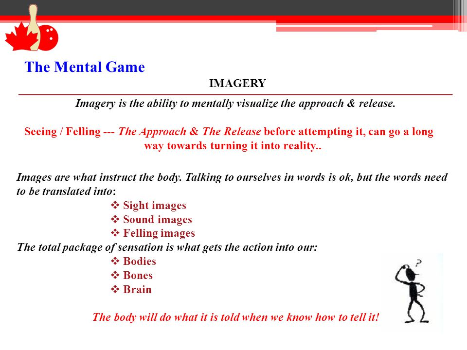 The Mental Game IMAGERY