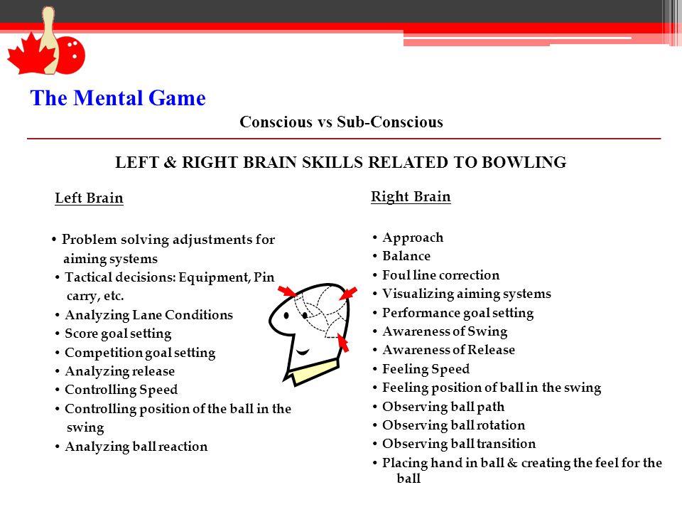 The Mental Game Conscious vs Sub-Conscious