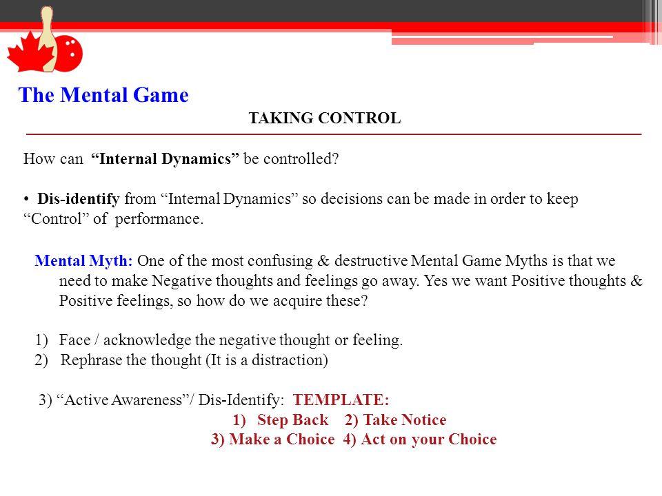 3) Make a Choice 4) Act on your Choice