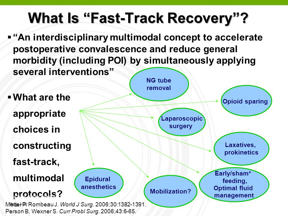 What Is Fast-Track Recovery