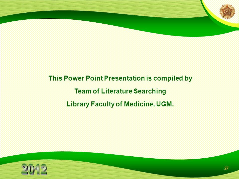 This Power Point Presentation is compiled by