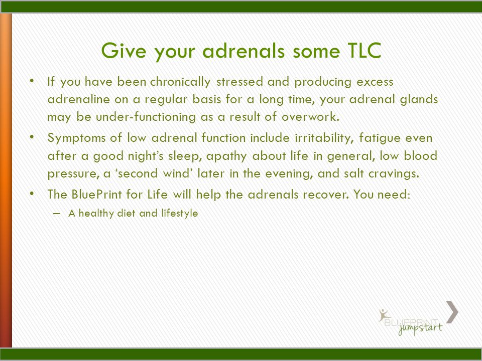 Give your adrenals some TLC