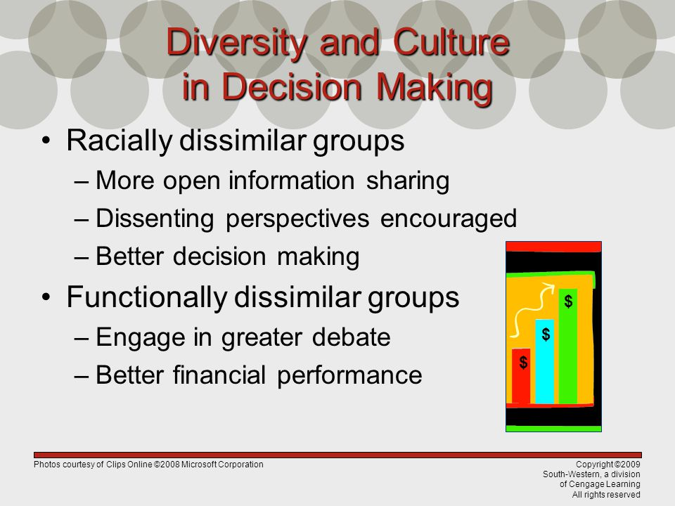 Diversity and Culture in Decision Making
