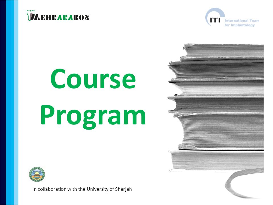 Course Program In collaboration with the University of Sharjah