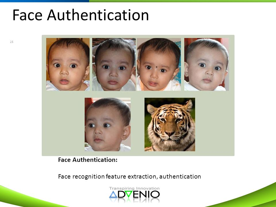 Face Authentication Face Authentication: