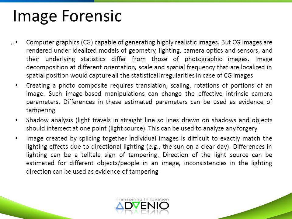 Image Forensic