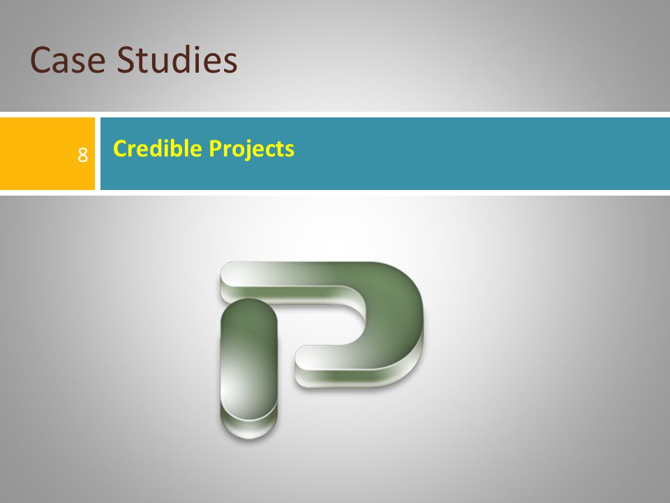 Case Studies Credible Projects