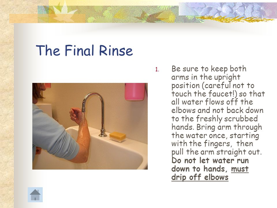 The Final Rinse