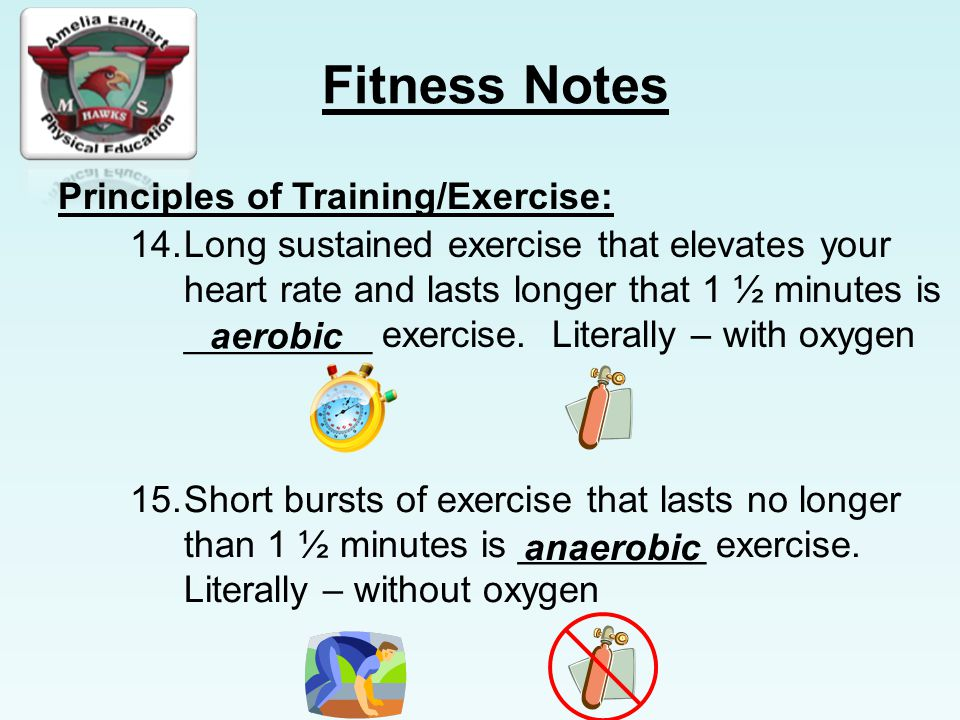 Principles of Training/Exercise: