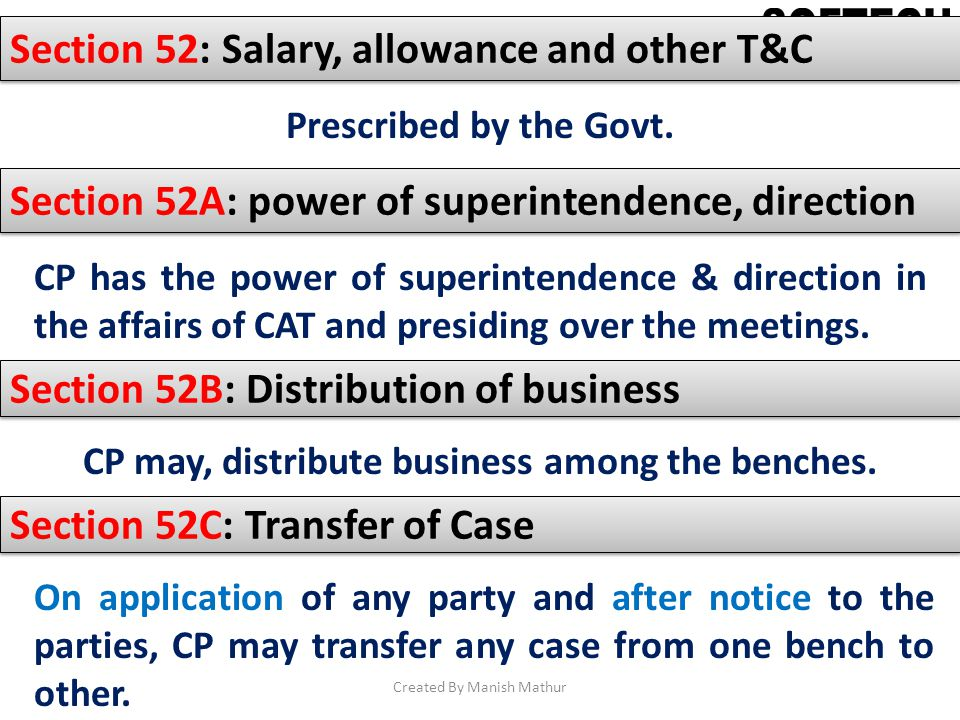 CP may, distribute business among the benches.
