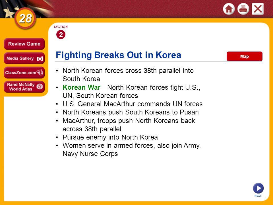 Fighting Breaks Out in Korea