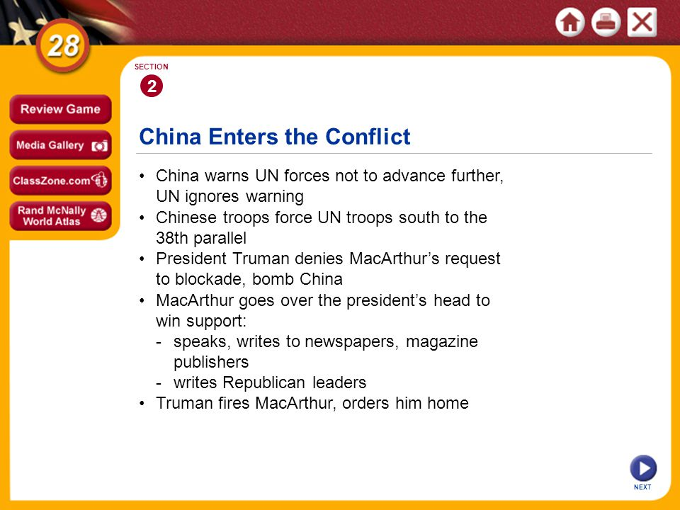China Enters the Conflict
