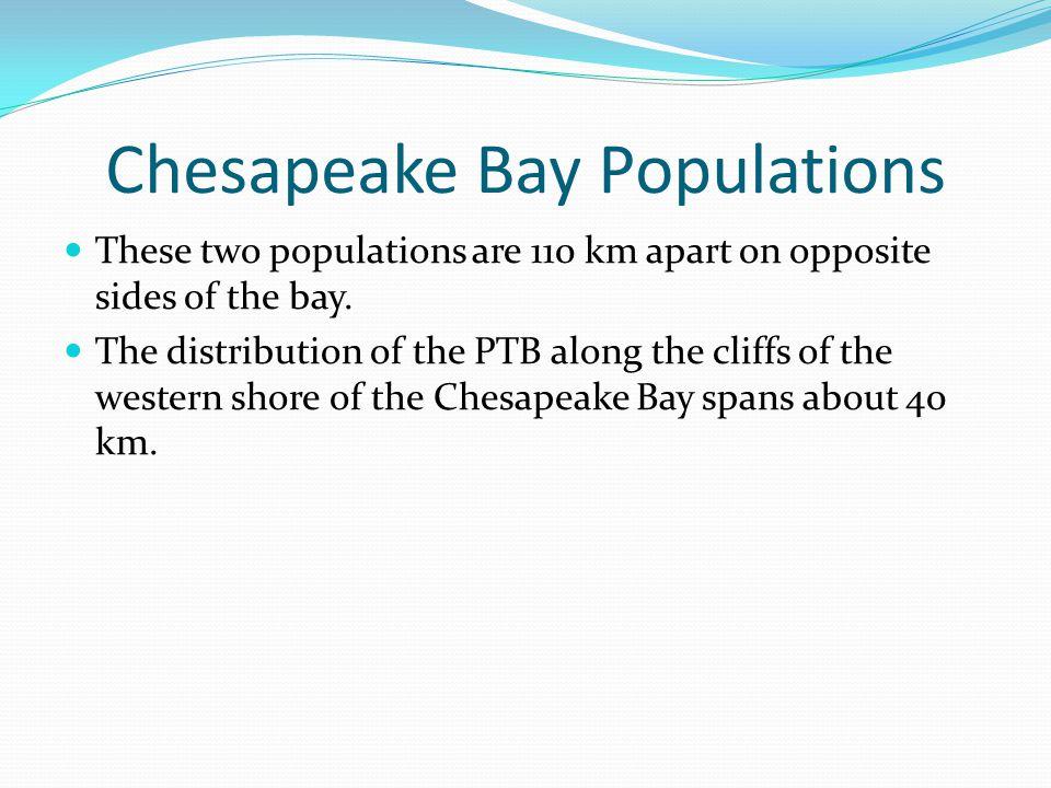 Chesapeake Bay Populations