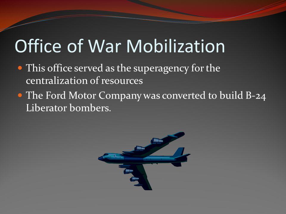 Office of War Mobilization