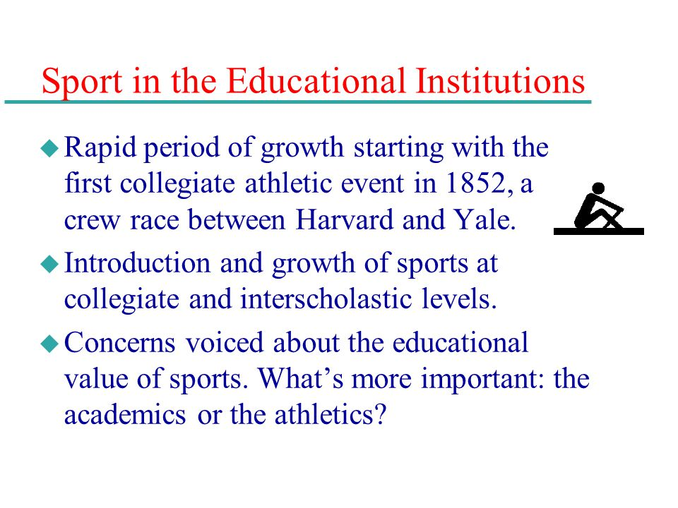 Sport in the Educational Institutions