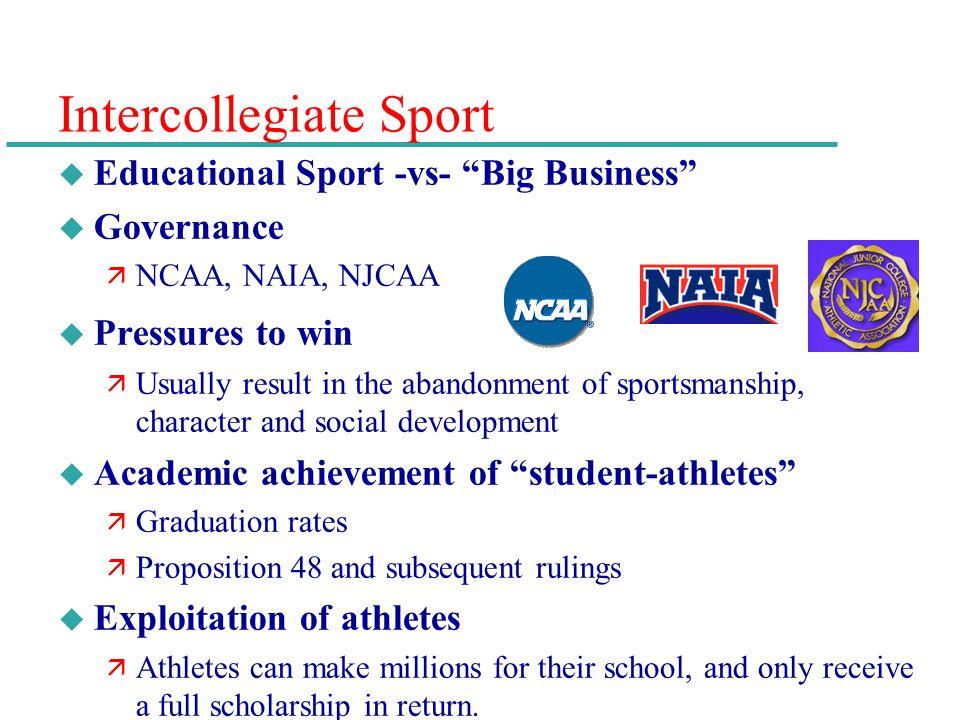 Intercollegiate Sport