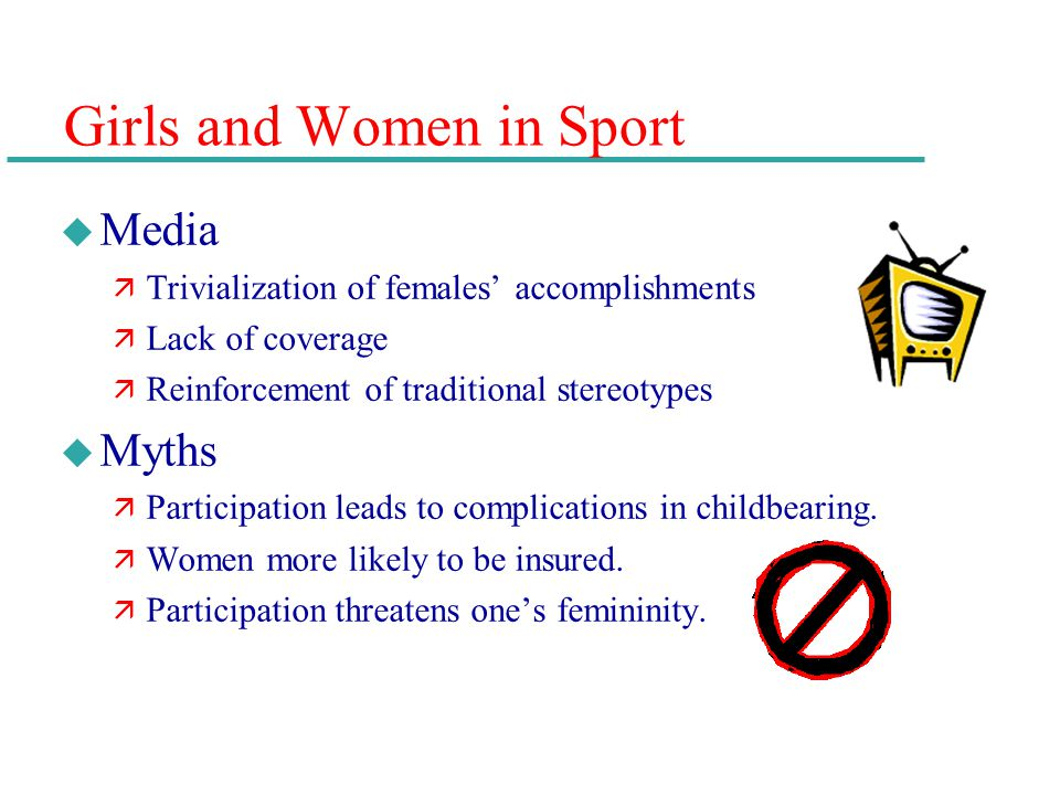 Girls and Women in Sport