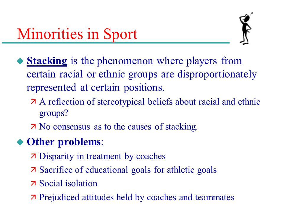 Minorities in Sport