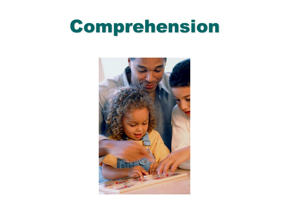 Comprehension English Language Arts & Reading