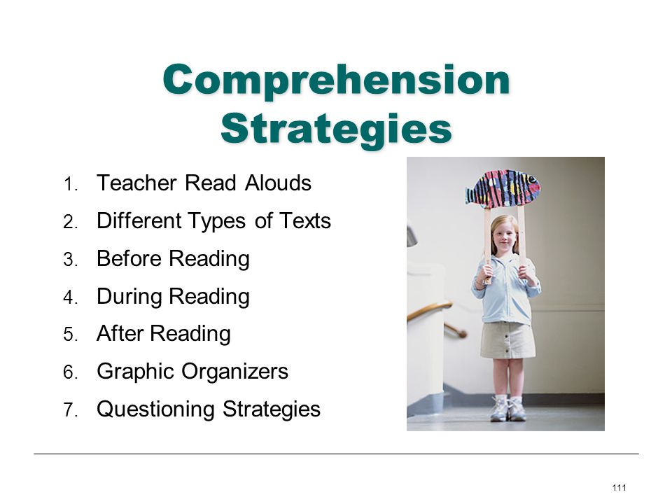 Comprehension Strategies