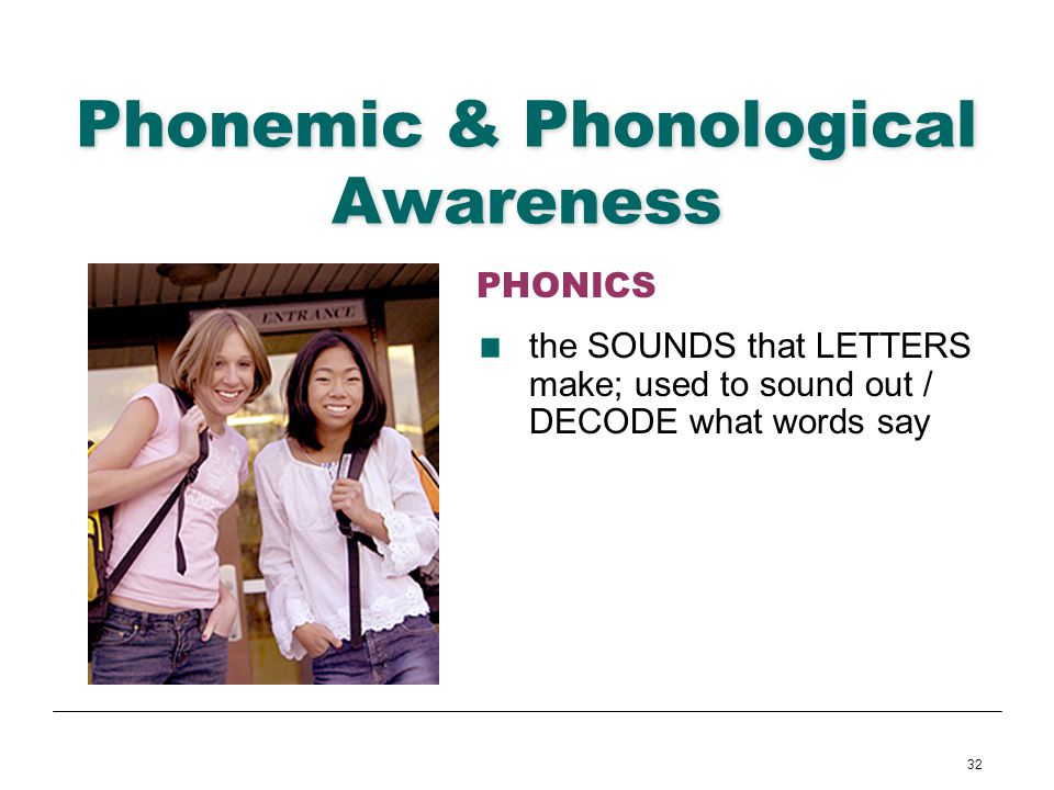 Phonemic & Phonological Awareness