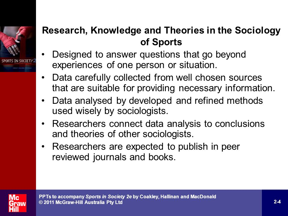 A research on sports in society