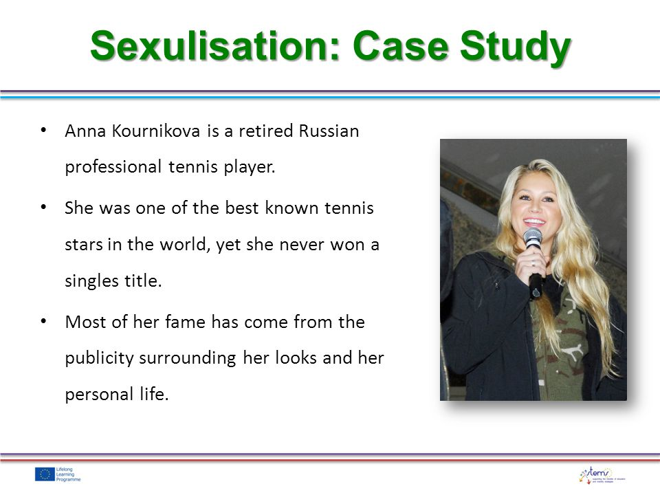 Sexulisation: Case Study