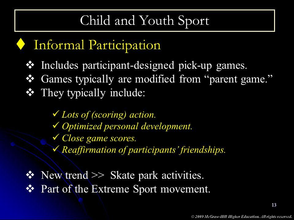 Informal Participation
