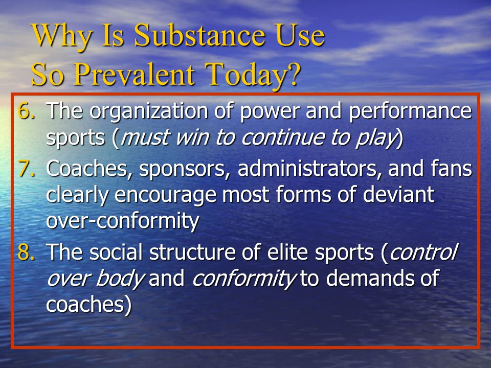 Why Is Substance Use So Prevalent Today