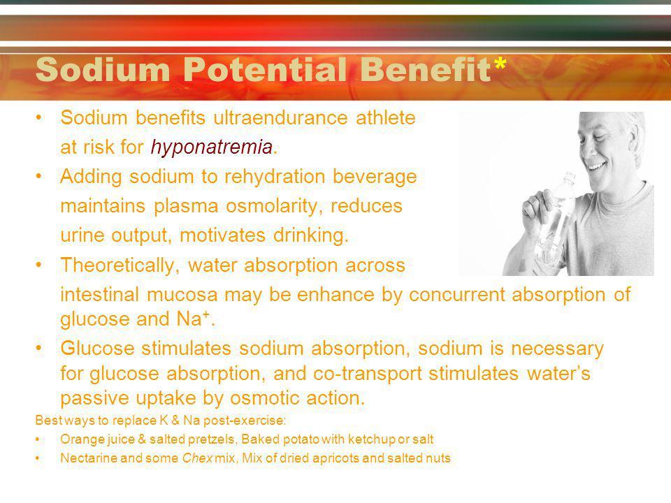 Sodium Potential Benefit*
