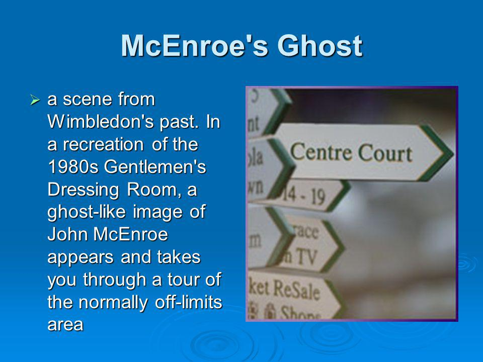 McEnroe s Ghost