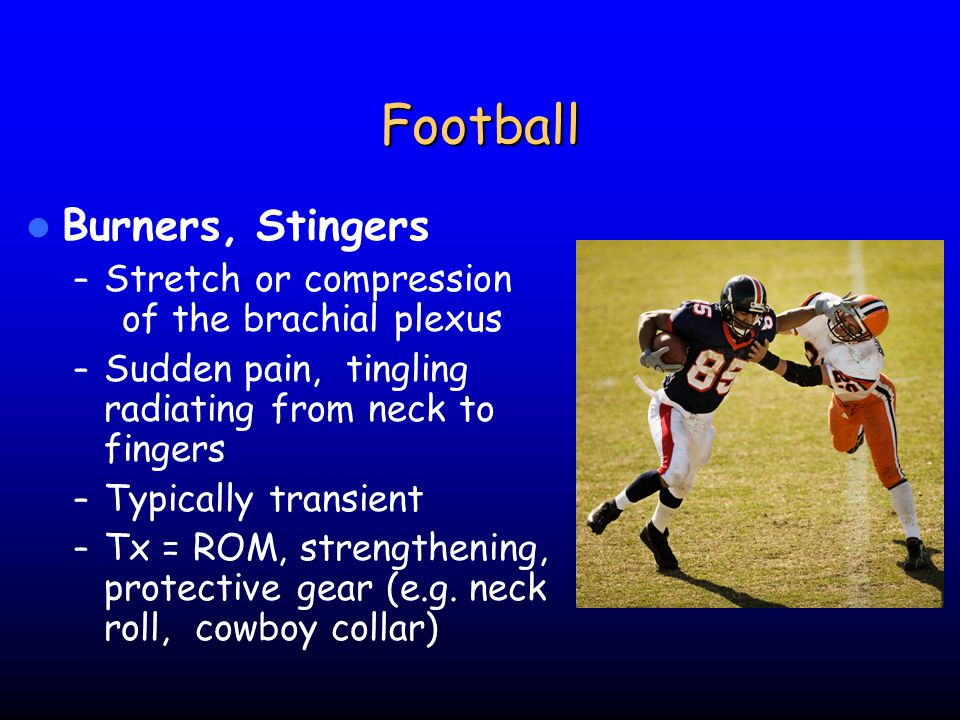 Football Burners, Stingers