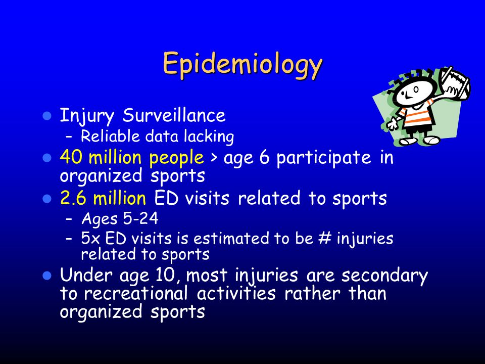 Epidemiology Injury Surveillance