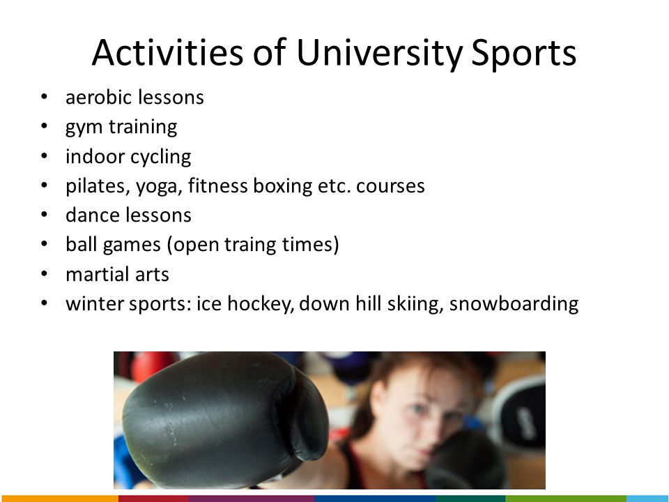 Activities of University Sports