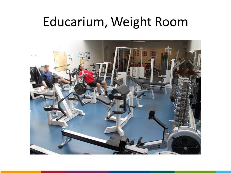 Educarium, Weight Room